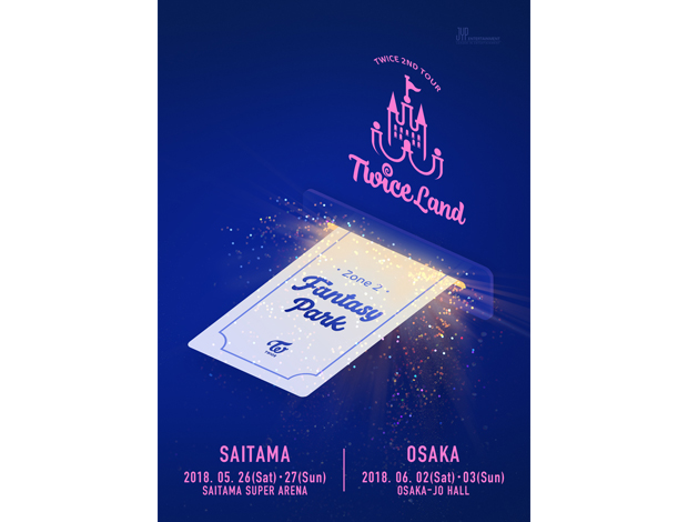 TWICE 2ND TOUR 'TWICELAND ZONE 2 : Fantasy Park' IN JAPAN