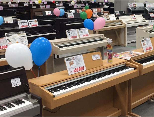 ピアノ・プレミアムアウトレットバザールinさいたま