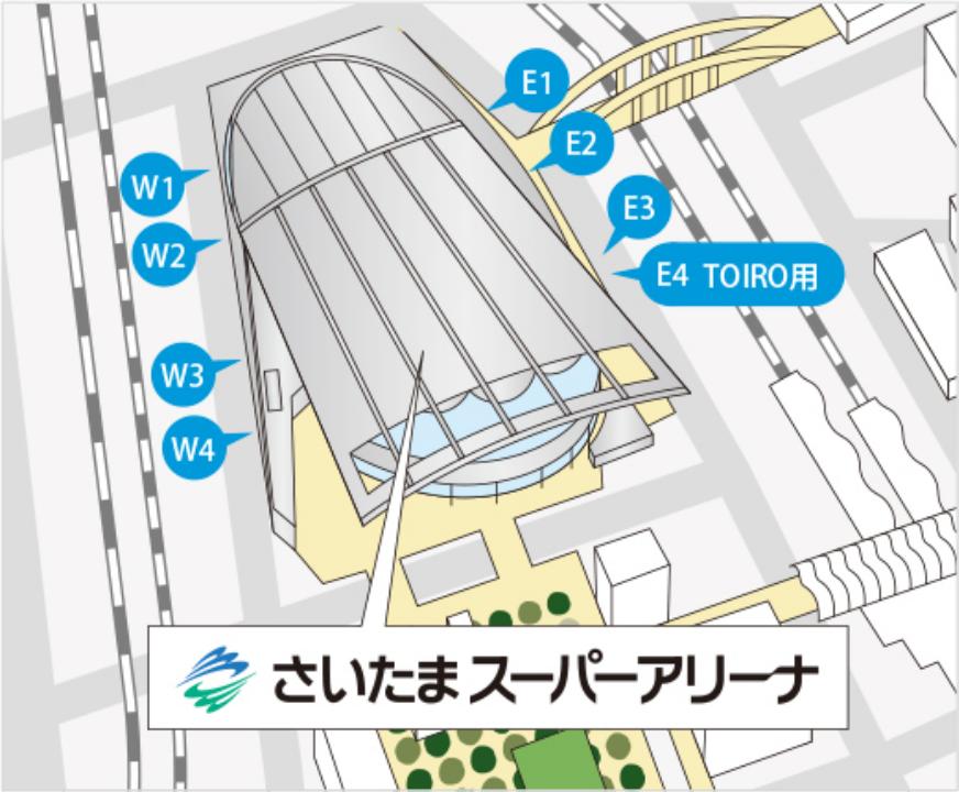ゲートマップ